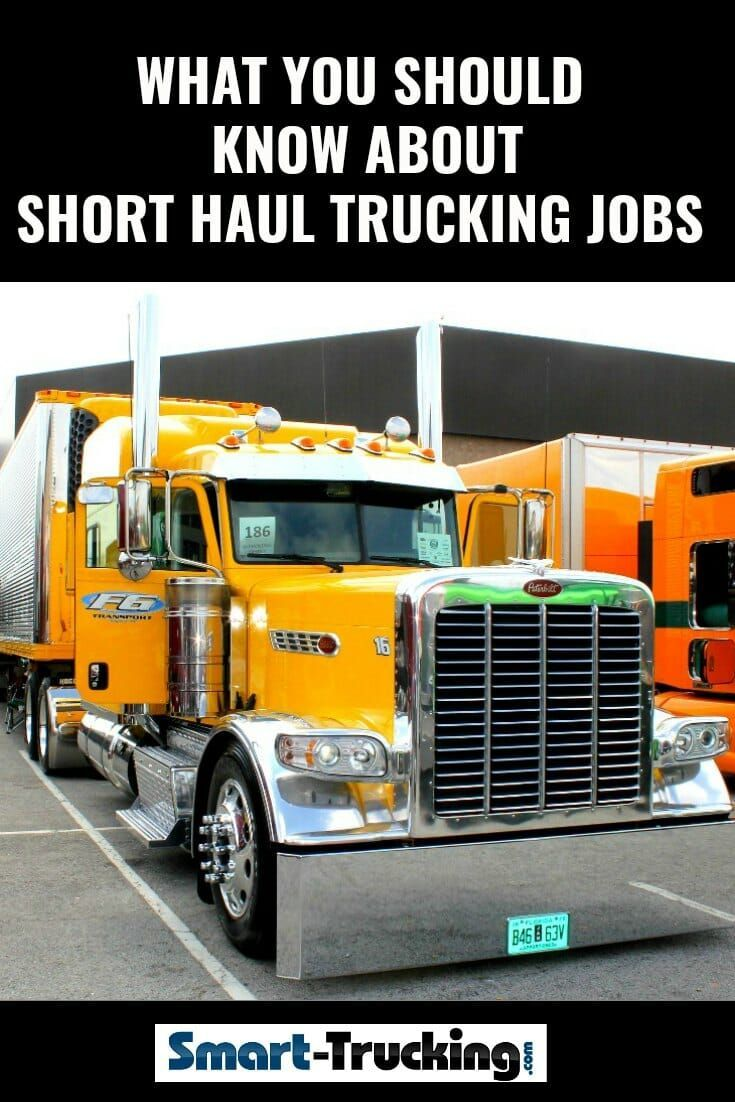 What You Should Know About Short Haul Trucking Jobs Each Type Of