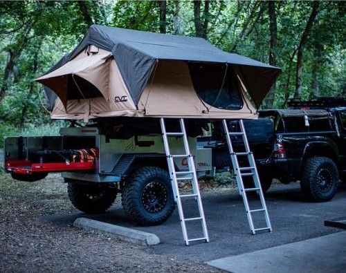 The Mt. Denali is our 4+ person tent. This is our largest roof top tent. Annex/changing room included in price.  (This is the big brother to the Mt.…