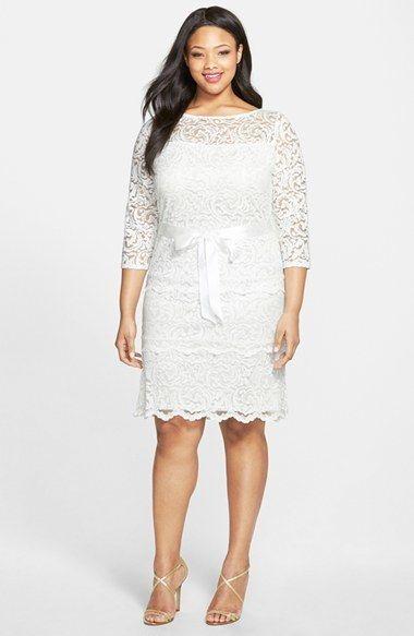 51 best lace dress | Plus size images on Pinterest