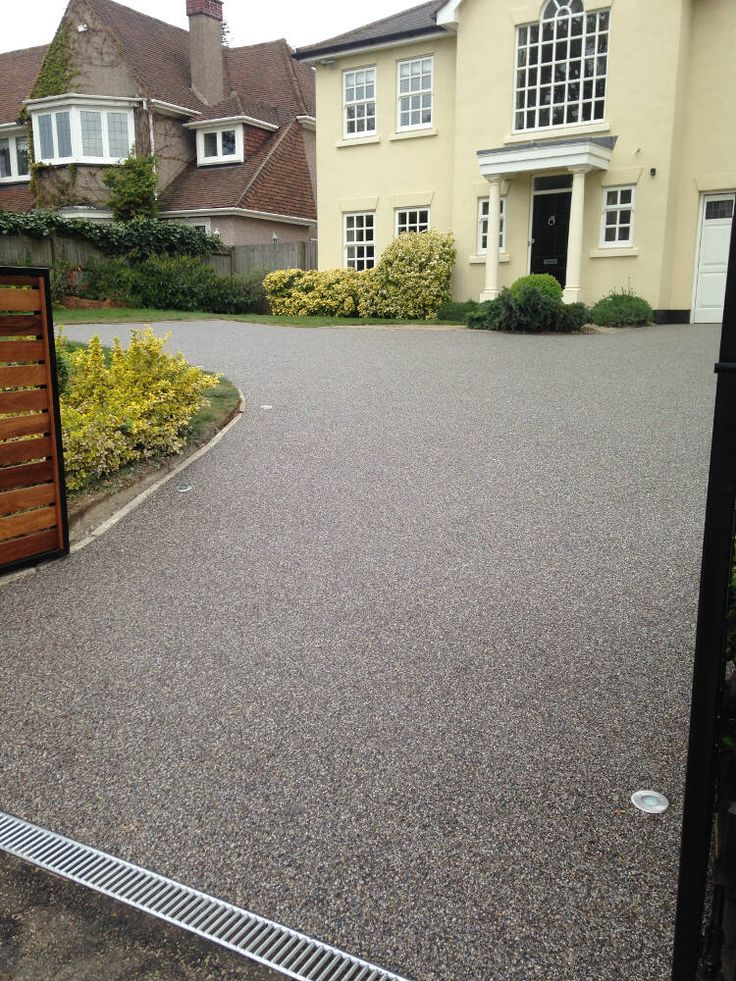 Resin driveway costs london kent newbold and thomas for New driveway ideas