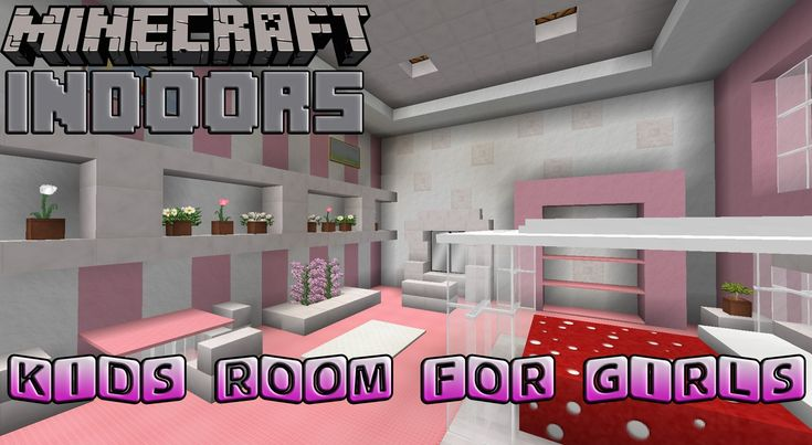 Check this great Minecraft video out.  Sweet looking kids room for girls! http://www.minecraftwiz.com/category/decorations/