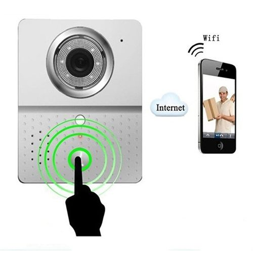 ALEKO® HL3601 WIFI Wireless Visual Intercom Doorbell Security Camera Door Phone for Iphone Ipad Samsung Android IOS System Mobile Phone - This looks a very good product, on my gate at the end of the drive, and I am always within arms reach of my phone (LOL), I think I might need a WiFi booster!