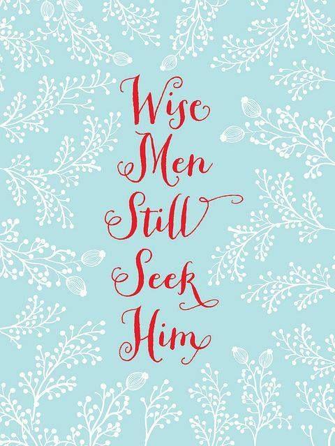 SEEK HIM,  JESUS!