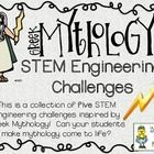 Can your students engineer some Greek Mythology? Try these five STEM Engineering Challenges to find out! The Five Challenges Included in this Set...
