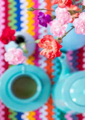 Kleurig stilleven met anjers - Bloemenkaarten - Kaartje2go