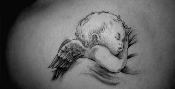 Baby Angel Tattoo auf Pinterest | Engel Tätowierung, Engel Tätowierung …