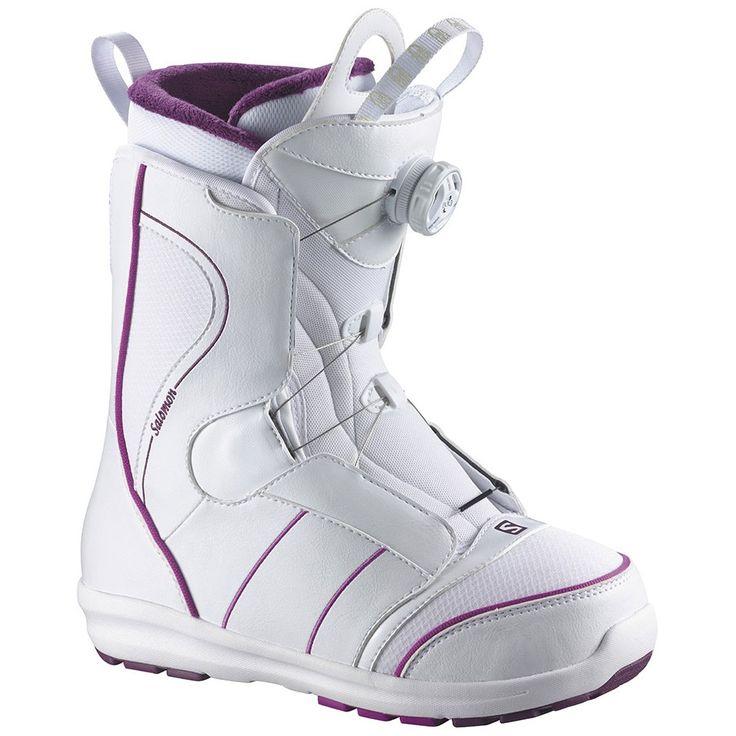 Salomon Pearl BOA Boot - Women's 2015 | Salomon Snowboards for sale at US Outdoor Store
