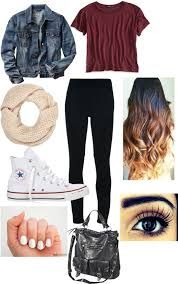 first day of school outfit high school tumblr - Google Search