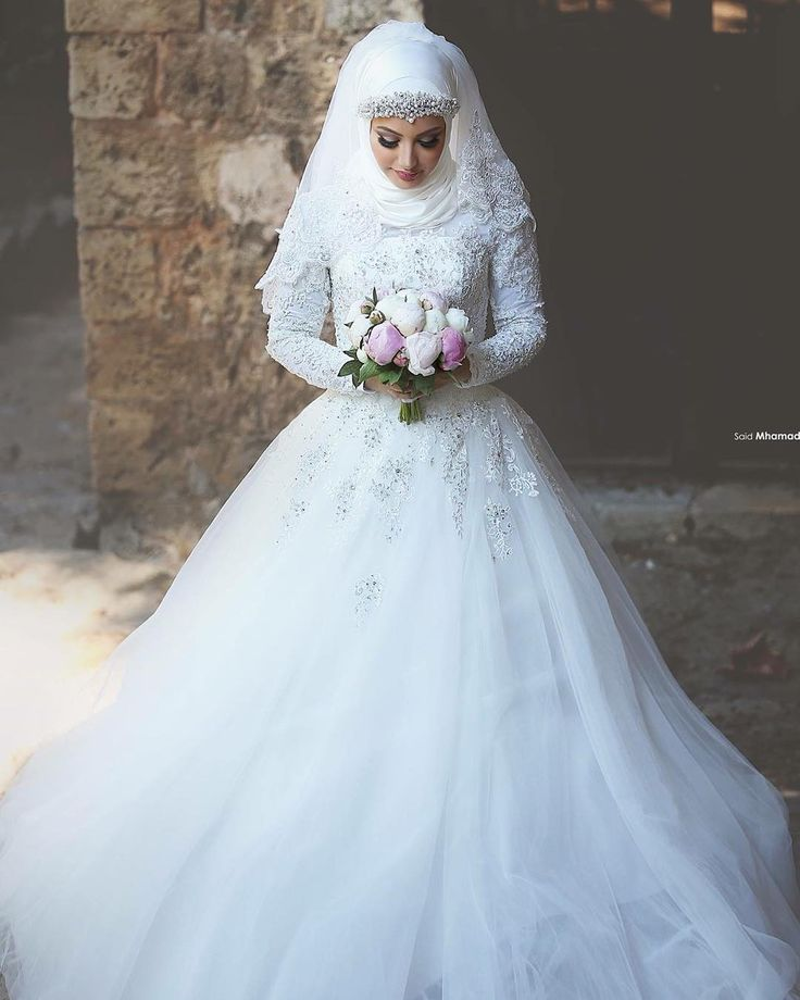 There she is the beautiful Marwa Agha   #Beautiful #Bride #SaidMhamad…