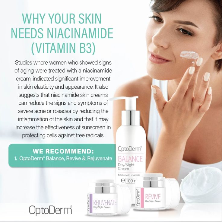 WHY your skin needs Niacinamide (vit B3) Studies where women who showed signs of aging were treated with a niacinamide cream, indicated significant improvement in skin elasticity and appearance. It also suggests that niacinamide skin creams can reduce the signs and symptoms of severe acne or rosacea by reducing the inflammation of the skin and that it may increase the effectiveness of sunscreen in protecting cells against free radicals. We recommend: 1. OptoDerm® Balance, Revive and…