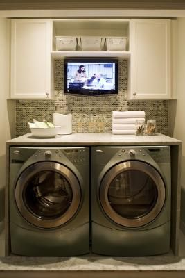Pretty sure this is how I want my laundry room!  Just have to see if my room is wide enough.