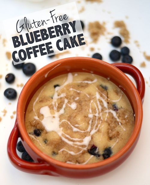 Gluten-Free Blueberry Coffee Cake | GF Ideas | Pinterest