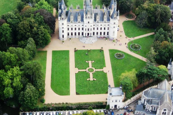 Neogothic jewel in Anjou