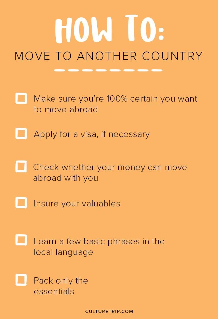 challenges for moving to another country Taking the challenge: living abroad but moving abroad definitely has its challenges as done it before the easier it will be to adjust in another new country.