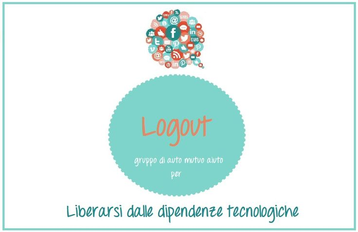 "La libellula blu | Logout  Associazione ""La libellula blu"" Catania | Siena www.lalibellulablu.it #psicologia #psicologocatania #psicologosiena #logout #tecnologia"