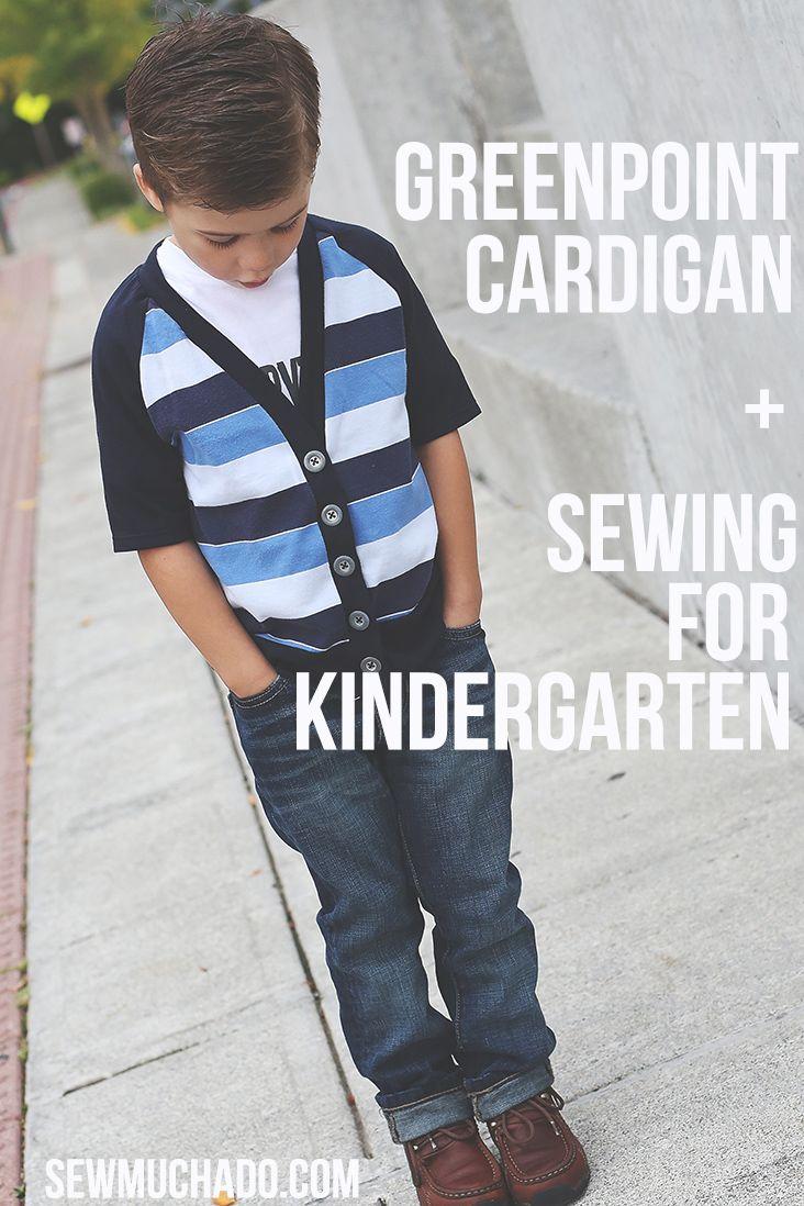 Greenpoint Cardigan Pattern - by Hey June Patterns #sewing #sewingtutorial #sewingpattern #sewmuchado #diy #pdfpattern #heyjunepatterns #boysewing #cardiganpattern