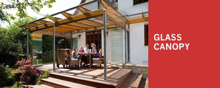 Solarlux Glass Canopy, Glass House in Scotland