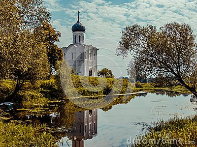 Vladimir Cathedral of the Intercession on the Nerl