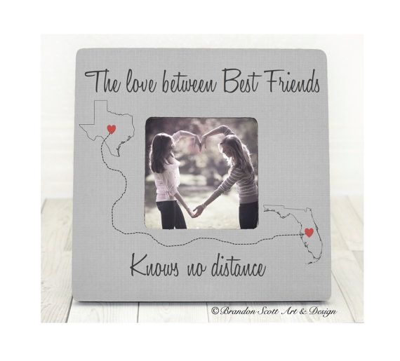 16 best Best Friend Frame Best Friend Gift Best Friend Birthday ...