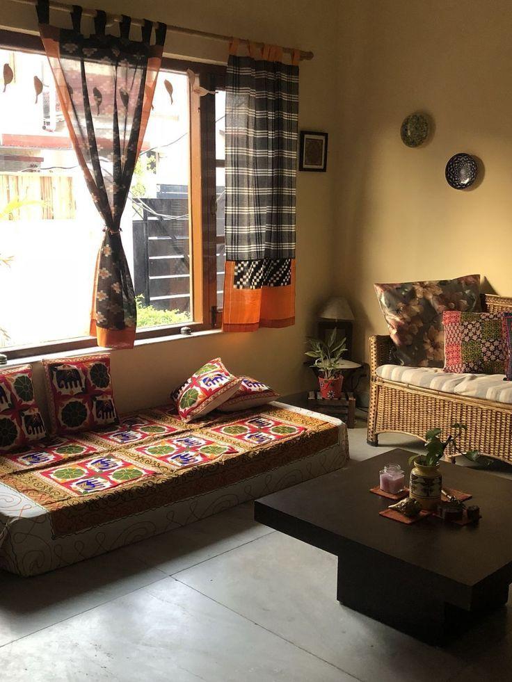 34 Beautiful Indian Home Decor Ideas Indian Bedroom Decor Indian Home Interior Indian Living Rooms