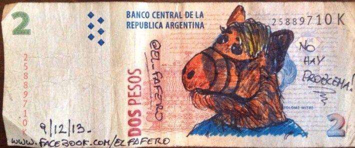 Cultura Pop en los billetes argentinos
