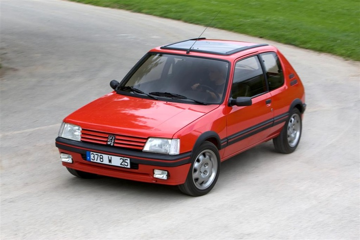 205 GTI...loved my 205...french know how to make cars.