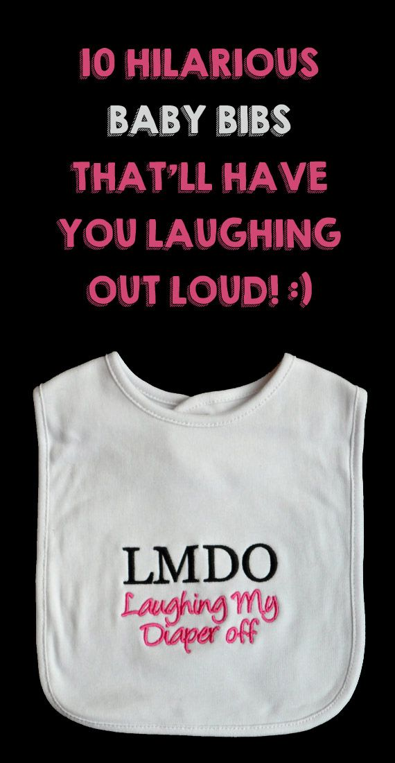 I'm so getting #6 for my son, LOL! http://lifeasmama.com/10-hilarious-baby-bibs-that-will-have-you-laughing-out-loud/