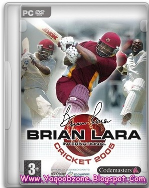 Brian Lara International Cricket 2005 PC Game Full Version Free Download | Free Softwares & Games