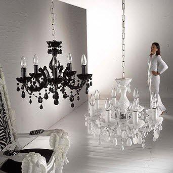 Lámpara araña de estilo / de vidrio soplado / de cromo / de fibra acrílica VIENNA Voltolina