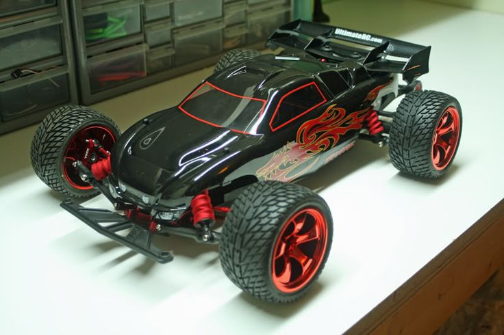 My Hella Lowered Rustler/Lets Share Pics - Traxxas Rustler & Bandit @ URC Forums