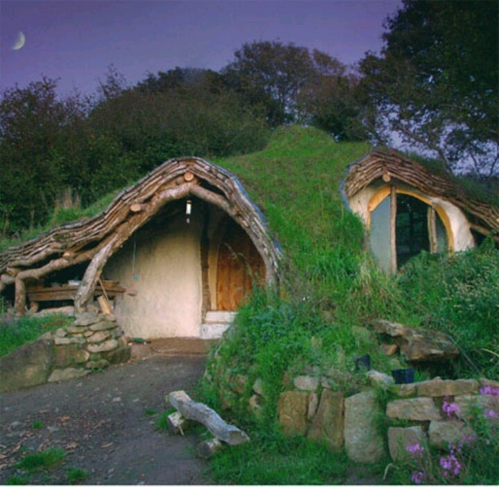 The Hobbit House Built from the