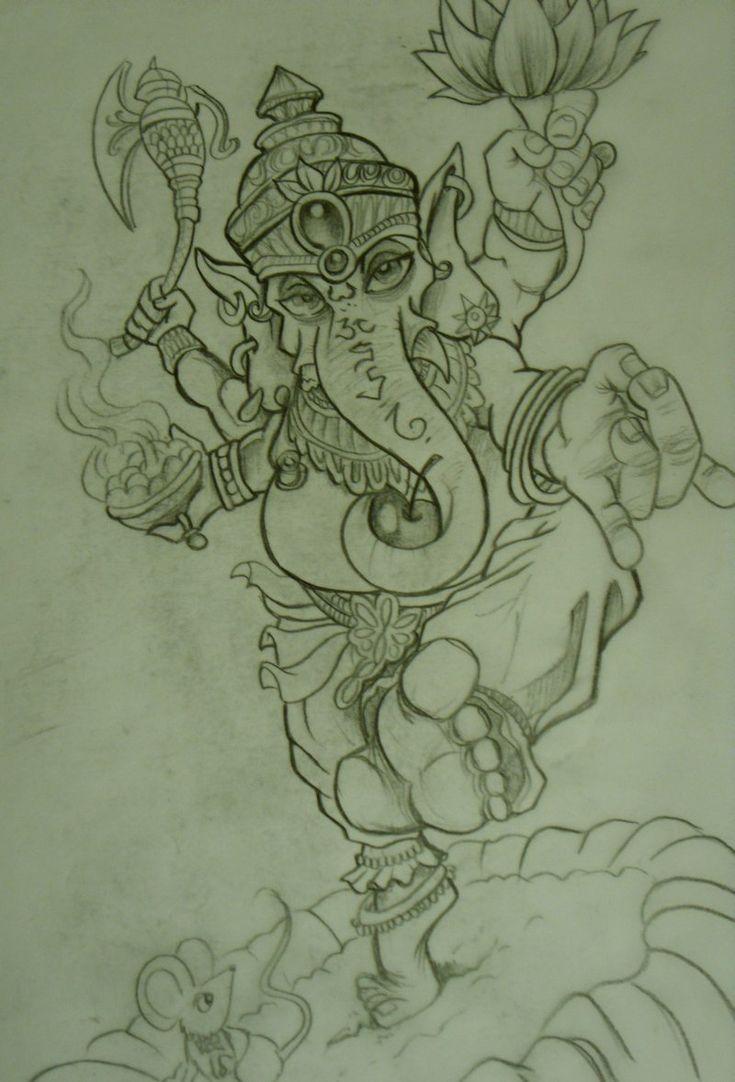 11 ganesha tattoo designs ideas and samples - Ganesh Tattoos Ganesh Tattoo Sketch By Chrisxart On Deviantart