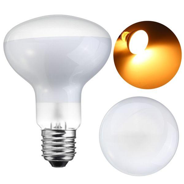 25w 40w 50w 60w 75w 100w R80 Warm White Infrared Heat Reptile Light Bulb Ac220 240v Reptile Lights Bulb