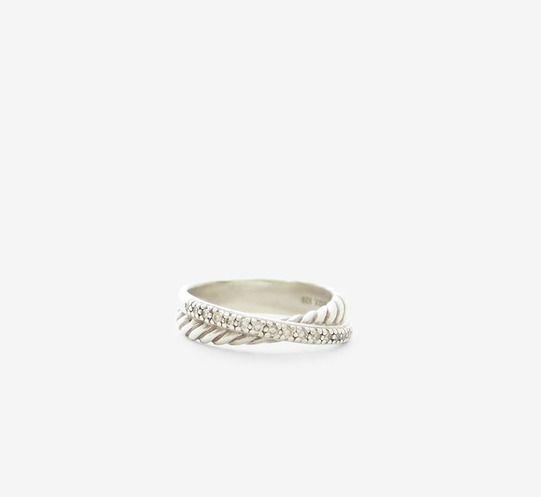 David Yurman Silver Ring   VAUNTE