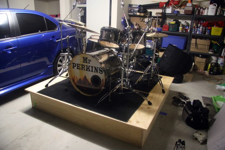 Diy Drum Riser Really Easy To Make Ignition Ideas