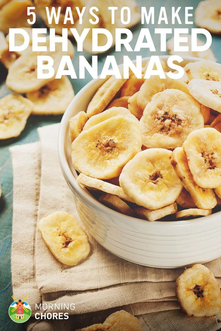 5 Ways to Dehydrate Bananas (and 4 Delicious Recipes to