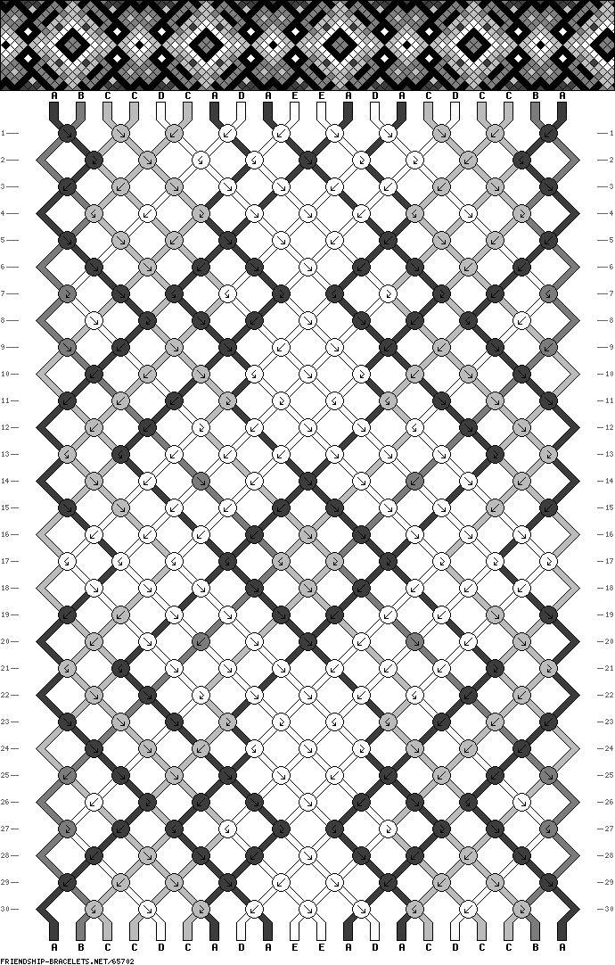 608 best Friendship bracelet patterns to make images on