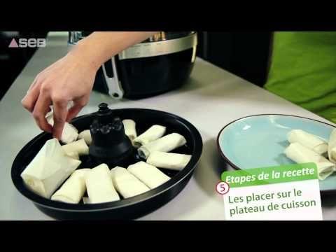 SEB Actifry 2 en 1 - Recette compotée de banane et croustillant de chocolat