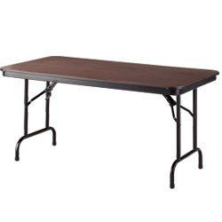 KI DuraLite Folding Tables - Walnut by DuraLite™. $419.91. Unique construction makes this KI DuraLite Folding Table one of the most durable yet lightweight tables on the market today. Will support evenly distributed 2000-lb. loads. Smooth ABS (tough, rigid plastic) top and bottom surfaces surround a very strong, hexagonal honeycomb core. Top and bottom shells are ultrasonically welded around the perimeter to maintain top integrity and seal out moisture. Shock...