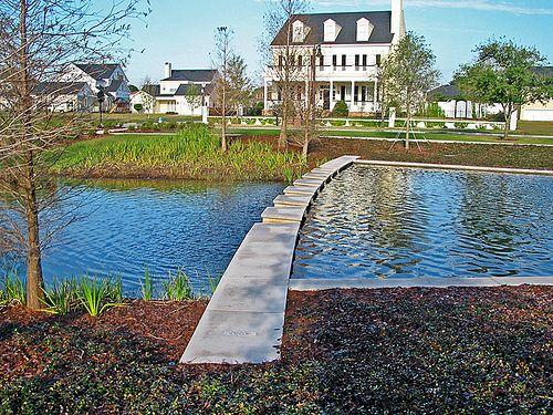 Baldwin park stormwater management pond gardens for Stormwater pond design