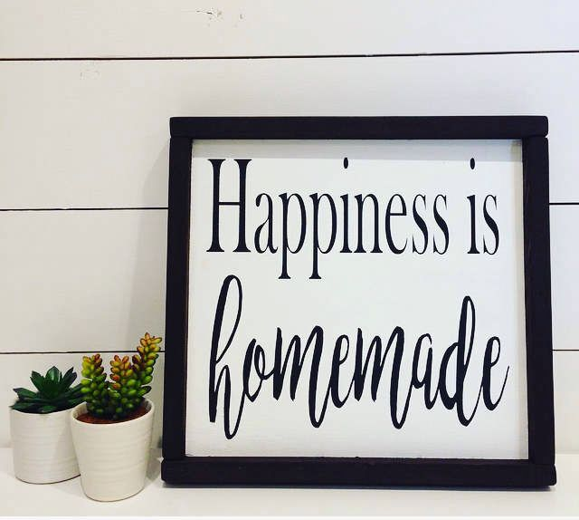 Happiness Is Homemade Handpainted Sign Handmade 12x12 Wall: 10 Best Ideas About Homemade Wood Signs On Pinterest