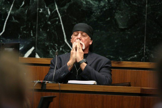 Jury awards Hulk Hogan $115M in sex tape lawsuit against Gawker -  A Florida jury sided today with wrestling star Hulk Hogan (real name Terry Bolea) in his lawsuit against Gawker. Hogan was awarded $  115 million — $  55 million for economic injuries and $  60 million for emotional distress. That's even more than the $  100 million that... | http://wp.me/p5qhzU-eGg | #Tech #News