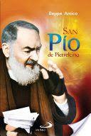 Cover della versione spagnola del mio libro San Pio da Pietrelcina. San Paolo Bogotà 2014.