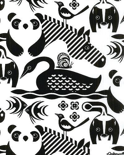 Animal Graphics - White