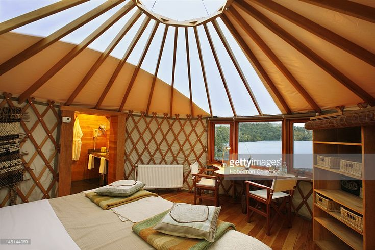 Yurt Interior, Patagonia Camp, Chile