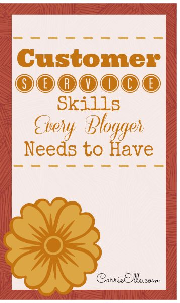 Customer Service Skills for Bloggers (or, How to Keep Getting Blogging Jobs)