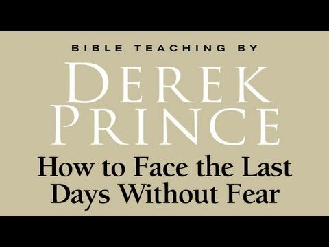How to Face the Last Days Without Fear - Derek Prince - wish I knew when this message was given, he passed on in 2003, so when you hear some of what he speaks about, we're seeing it now. 74 minutes YouTube