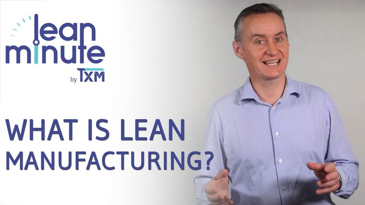 All this talk about Lean Manufacturing, but what does it really mean to be Lean? This short video talks about the TXM definition of what it means to be Lean. http://txm.com.au/video/txm-lean-video-lean-manufacturing