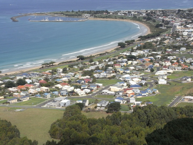 From Marriners Lookout, Apollo Bay