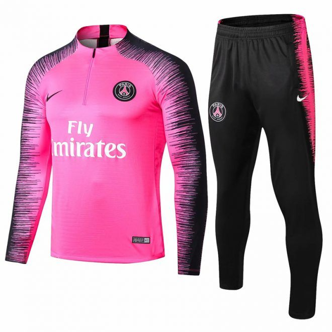 2018 2019 PSG Nike Squad Training Shirt (Wolf Grey) Kids